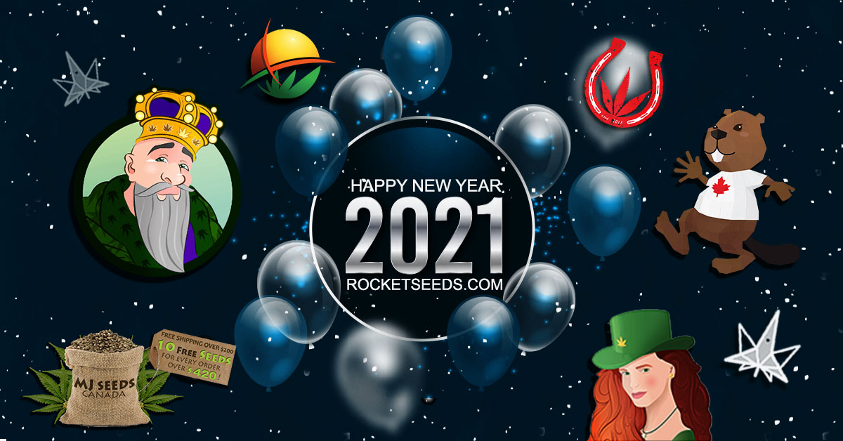 Rocket Seeds - Happy New Year 2021 Space FB 1200x628
